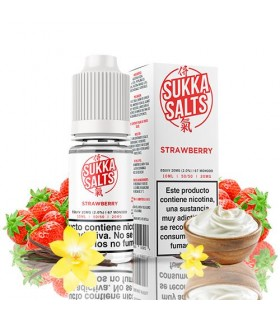 Sukka Salts Strawberry 10ml