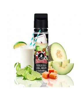 Drops Poker Fruits Batido de Lima Melón y Caramelo 50ml
