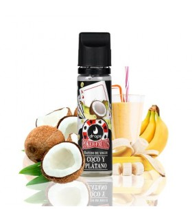 Drops Poker Fruits Batido de Coco Plátano 50ml